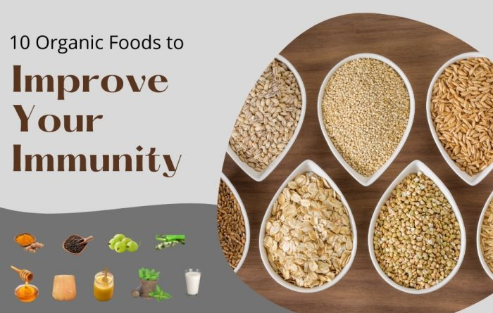 Organic Foods for Immunity