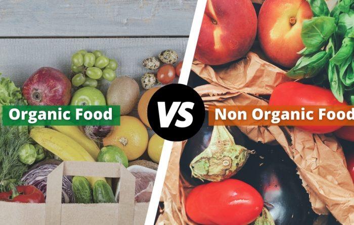 organic food vs non-organic food